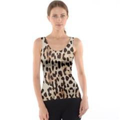 Leopard pattern Tank Top