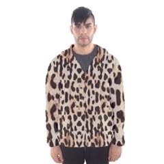 Leopard pattern Hooded Wind Breaker (Men)
