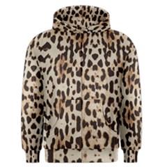 Leopard pattern Men s Zipper Hoodie