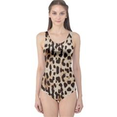 Leopard pattern One Piece Swimsuit