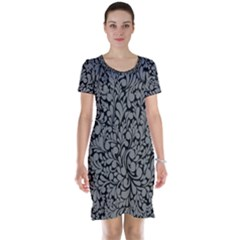Pattern Short Sleeve Nightdress