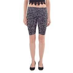 Pattern Yoga Cropped Leggings