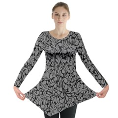 Pattern Long Sleeve Tunic