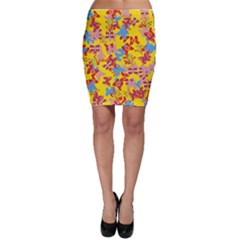 Butterflies  Bodycon Skirt
