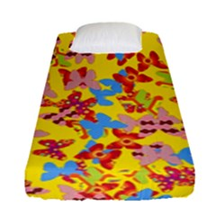 Butterflies  Fitted Sheet (Single Size)