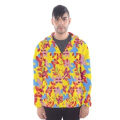 Butterflies  Hooded Wind Breaker (Men)