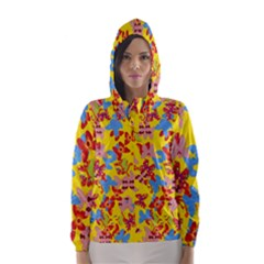 Butterflies  Hooded Wind Breaker (Women)