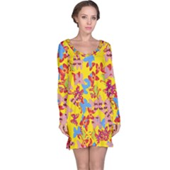 Butterflies  Long Sleeve Nightdress