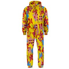 Butterflies  Hooded Jumpsuit (Men)