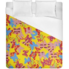 Butterflies  Duvet Cover (California King Size)