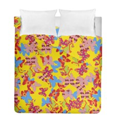 Butterflies  Duvet Cover Double Side (Full/ Double Size)