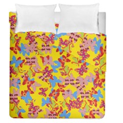 Butterflies  Duvet Cover Double Side (Queen Size)