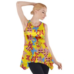 Butterflies  Side Drop Tank Tunic