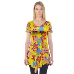 Butterflies  Short Sleeve Tunic