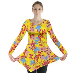Butterflies  Long Sleeve Tunic