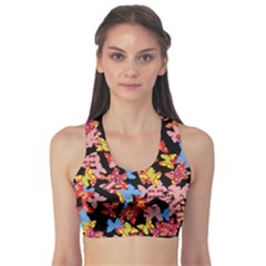 Butterflies Sports Bra