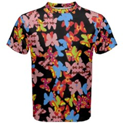 Butterflies Men s Cotton Tee