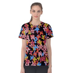 Butterflies Women s Cotton Tee