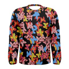 Butterflies Men s Long Sleeve Tee
