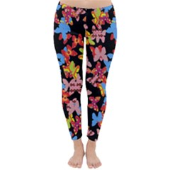 Butterflies Classic Winter Leggings