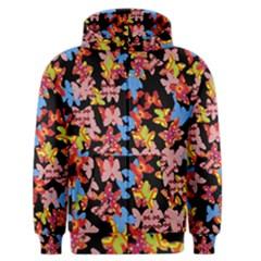 Butterflies Men s Zipper Hoodie