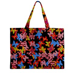 Butterflies Zipper Mini Tote Bag