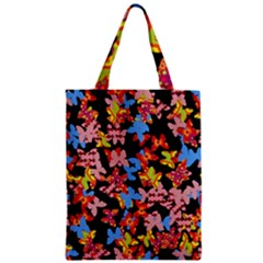 Butterflies Zipper Classic Tote Bag