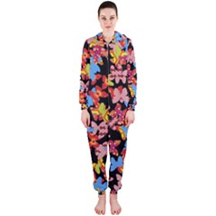 Butterflies Hooded Jumpsuit (Ladies)