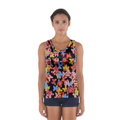 Butterflies Women s Sport Tank Top