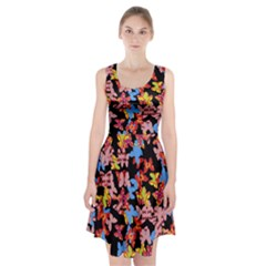 Butterflies Racerback Midi Dress