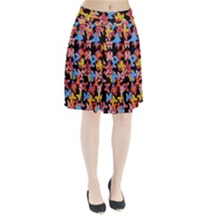 Butterflies Pleated Skirt