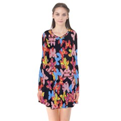 Butterflies Flare Dress