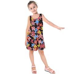 Butterflies Kids  Sleeveless Dress