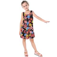 Butterflies Kids  Sleeveless Dress