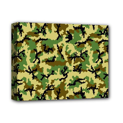 Camo Woodland Deluxe Canvas 14  x 11