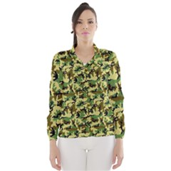 Camo Woodland Wind Breaker (Women)