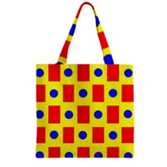 Pattern Design Backdrop Grocery Tote Bag