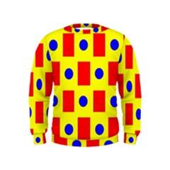 Pattern Design Backdrop Kids  Sweatshirt