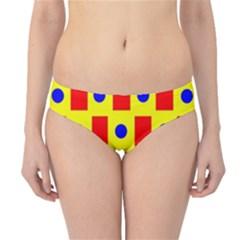 Pattern Design Backdrop Hipster Bikini Bottoms