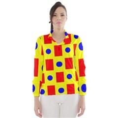 Pattern Design Backdrop Wind Breaker (women)