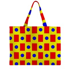 Pattern Design Backdrop Medium Tote Bag