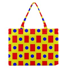 Pattern Design Backdrop Medium Zipper Tote Bag