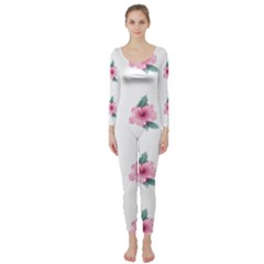 Etro Vintage Former Wallpaper Long Sleeve Catsuit