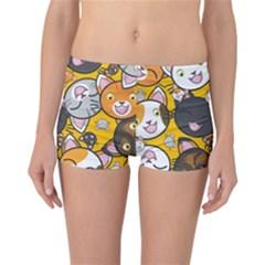 Cats pattern Reversible Bikini Bottoms