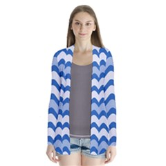 Waves Wavy Lines Pattern Design Cardigans