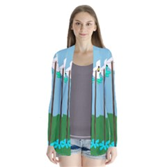 Welly Boot Rainbow Clothesline Cardigans