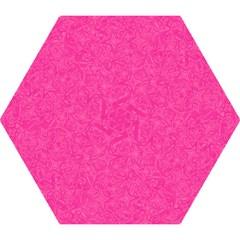 Geometric Pattern Wallpaper Pink Mini Folding Umbrellas