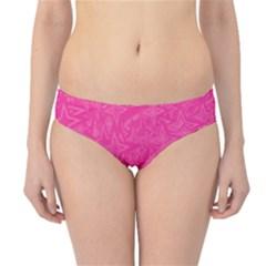 Geometric Pattern Wallpaper Pink Hipster Bikini Bottoms