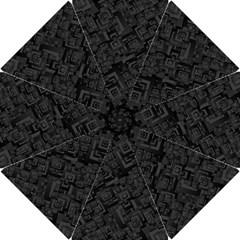 Black Rectangle Wallpaper Grey Hook Handle Umbrellas (small)