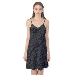 Black Rectangle Wallpaper Grey Camis Nightgown
